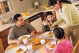 Family Mealtime For Future Generations