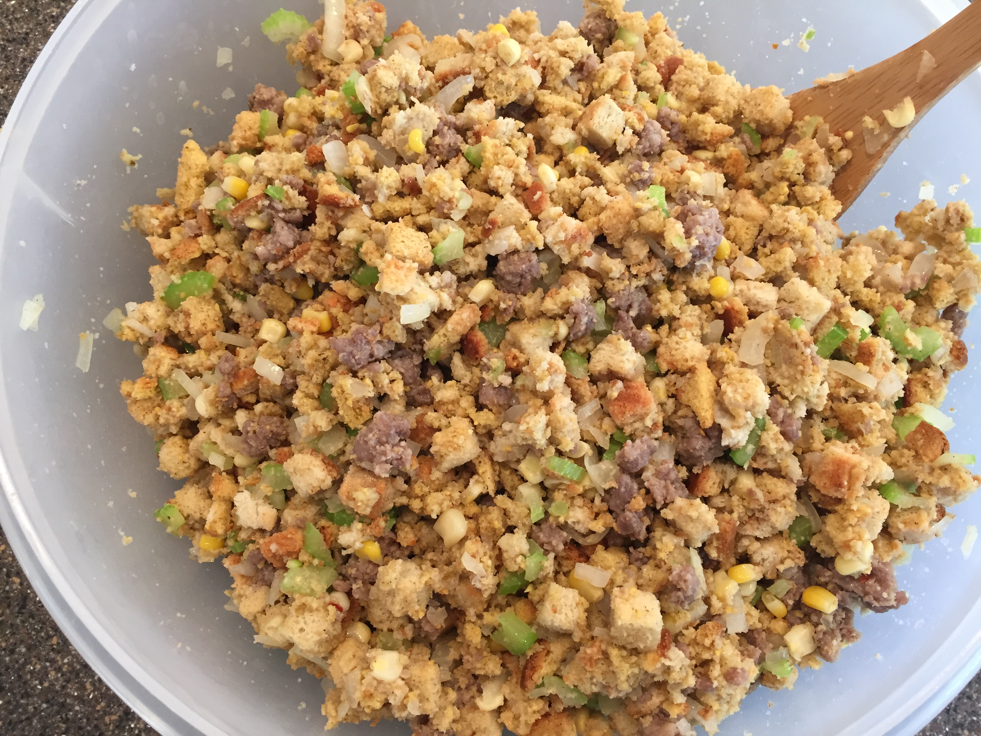 Delicious stuffing recipe with sausage