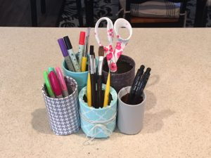 Personalized Desk Organizer for under $5