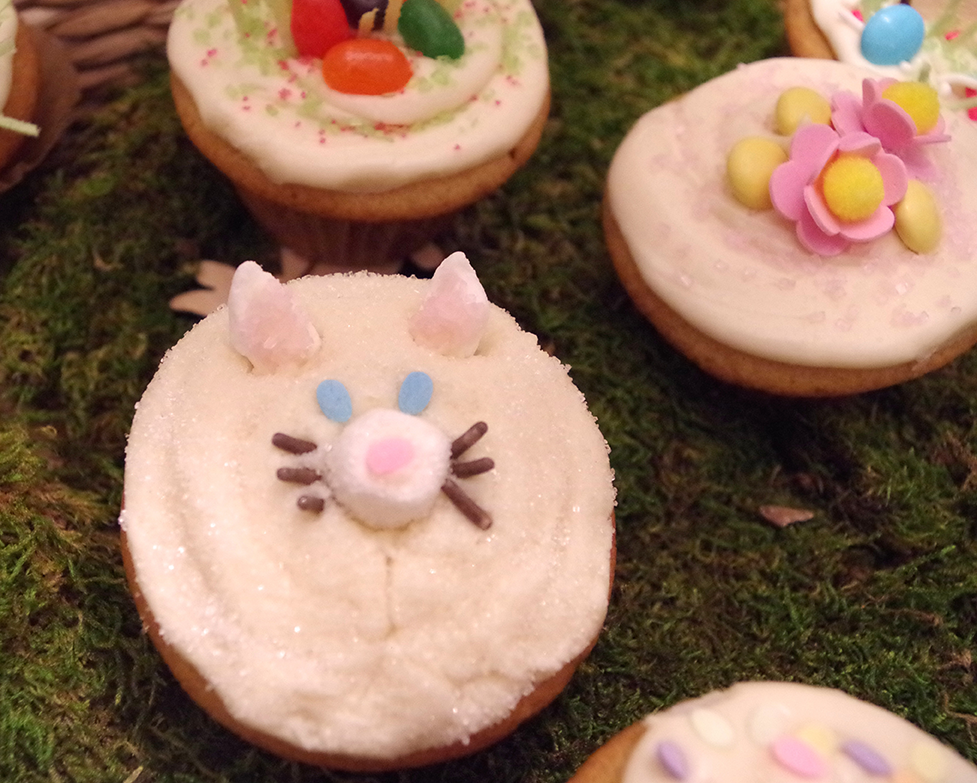 Super Moist Cupcake Decorated with Pig Face