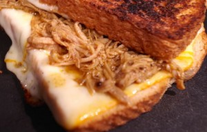 Pulled Pork Grilled Cheese– Mealtime Monday