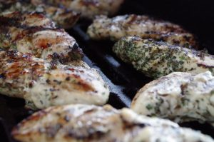 Barbecued Italian Chicken